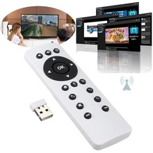 Universal Fly Air Mouse Wireless Remote Control USB 2.0 2.4GHz for Android TV Box Notebook PC for MAC