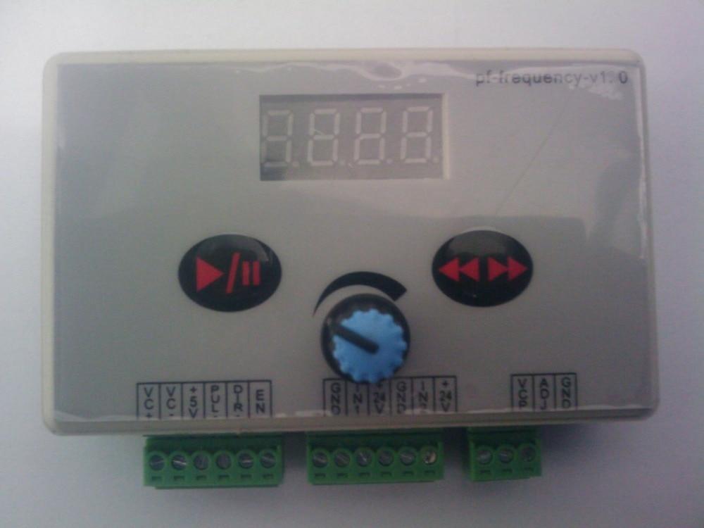 Pulse generator pulse stepper motor speed dc motor speed regulation, back and forth movement<br>