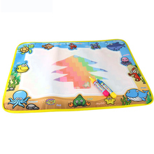 New Doodle Water Drawing Mat Painting Travel Board with Magic Pen for Kids Art Education 2017 Hot Drawing Toys 4 Kinds(China)