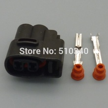 1 Sets 2 Pin 2.0mm Female For Kia Ignition Coil Ignition Coil Connector Fuel Injector Connector Wiring Harness Auto Plugs
