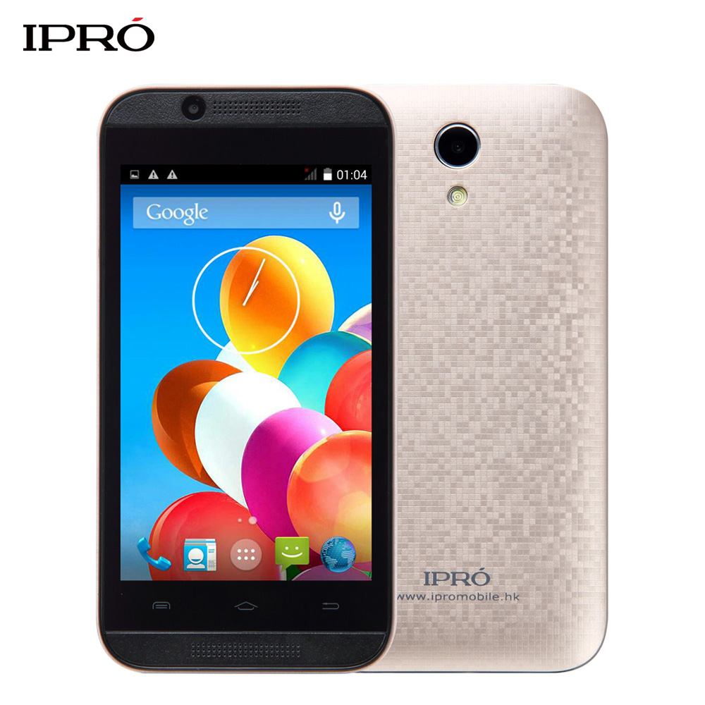 Free Case+Film Original IPRO Wave 4.0 Inch Android Mobile Phone 512MB+4GB Unlocked Smartphone 1250mAh Cellphone Global Version(China (Mainland))