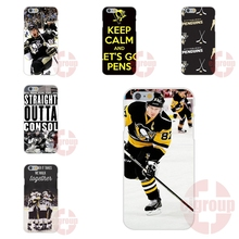 NHL Hockey Pittsburgh Penguins For Samsung Galaxy Note 2 3 4 5 A3 A5 A7 J1 J2 J3 J5 J7 2016 Soft TPU Silicon Retail New Fashion