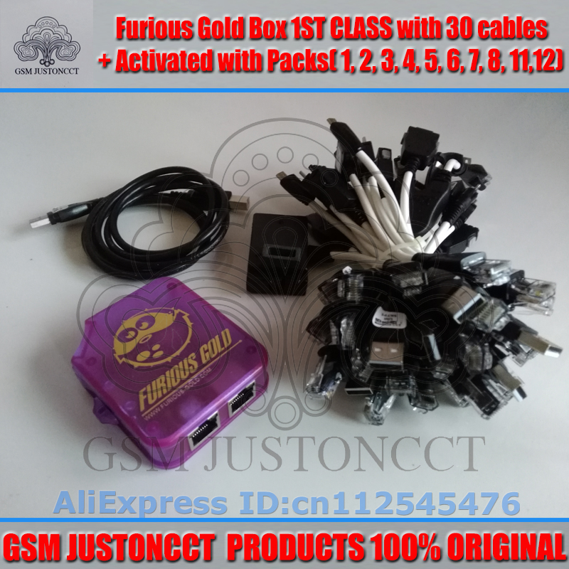 furious gold box+30 cable+pack2.3.4.5.6.7.8.11.12-GSMJUSTONCCT-4