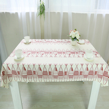 table cloth coffee tea table cloth fish animal christmas linen cotton lace sizes japen europe modern style deal free shipping