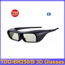 Free Shipping Gift Idea 2013 New Brand NEW Genuine 3D ACTIVE GLASSES FOR SONY TV TDG-BR250/B