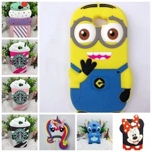 Cute Cartoon Cover Case For Huawei Y5II / Y5 II 2 Back Cover For Huawei Y5 ii 3D Stitch Batman unicorn Sulley Cat Silicone case(China)