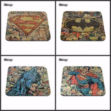 4pc Batman By Logo Hot Sale Gaming Mouse Pad Gel Mouse Pad Notebook Mouse Pad Case 220*180*2(MM) Mouse Pads Decorate Your Desk