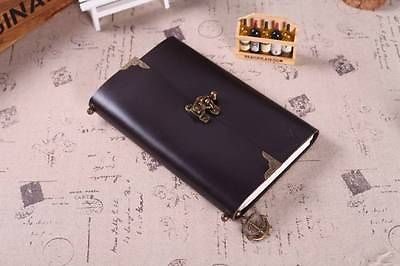 Blank Diaries Journals notebook note book genuine leather butterfly 0010501<br>
