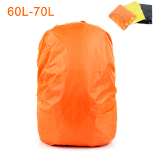 60-70L Bag Cover Waterproof Rain Cover For Backpack Trolley Bag Camping Hiking Cycling School Backpack Luggage Bags Dust Covers(China)