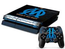 French Ligue 1 Olympique de Marseille for Playstation 4 console for PS4 Controller Vinyl PVC Stickers