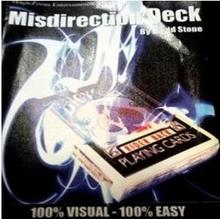 Misdirection Deck - David Stone - Magic Tricks,Stage Magic,Close Up Magic ,Mentalism,Comedy