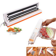 Automatic Electric Vacuum Food Sealer heat plastic Machine bag food storage sealer All Size Vacuum Bag Peanut Portable sealer