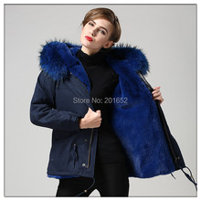 2015 Autunm and Winter women's plus size faux fur short design fur coat large fur raccoon collar long sleeve outwear mrs fur(China)