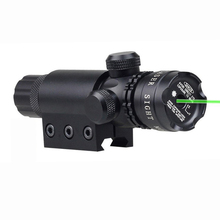 5mW Tactical Green Laser Designator Hunting Sight With High Bright Green Laser Beam 21mm Rail Mount And Tail Line Switch.(China)