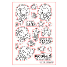 COOLHOO Cartoon Clear Stamp DIY Silicone Seals Scrapbooking/Card Making/ DIY Photo Album Decoration