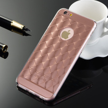 Luxury Electroplating Net Soft TPU Frame Fundas Phone Cases For Apple Iphone 5 5s SE 6 6s 6plus 6s Plus Cover Case Coque Capa