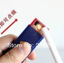 NEW High quality USB Rechargeable Power Flameless Green Electronic Lighter Fire Igniter Sample