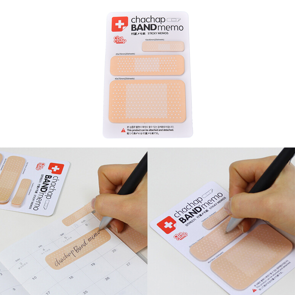 High Quality DIY Kawaii Paper Sticker Pads   Note  Cute Band-aid Memo Pad Sticky NoteCreative Korean Stationery Wholesale