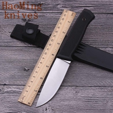 Hot Camping hunting tactics survival fixed knives outdoor portable combat utility  & K tool folding knife sheath rescue EDC gift