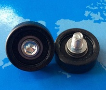 Diameter:26mm M6X12MM 6900RS Rubber Bearing Pulley Window Door Guide Wheel(China)