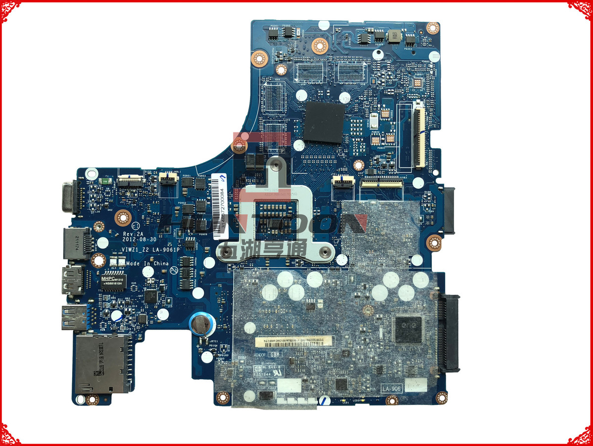 For Lenovo P400 laptop motherboard LA-9061P 90002215 Intel CPU DDR3 100/% tested