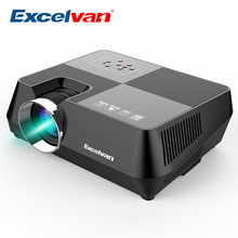 Excelvan GT-S8 800*480 Portable Multimedia LCD Projector With HDMI USB VGA AV TF Interfaces Support 720P For Home Cinema Theater(China)