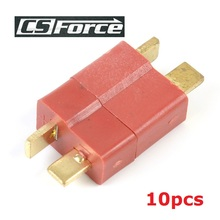 Buy 10pcs/lot T Plug Connector Male Female Deans RC Lipo Battery Helicopter Secure Connection Motor Connections for $3.48 in AliExpress store