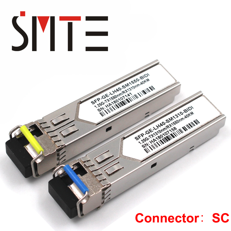 10pcs Hottest Original Hua Wei 10g 1310nm 1.4km Sm Sfp Fiber Optic Equipments Communication Equipments Module Single-mode Fiber Optic Module Hot Sele