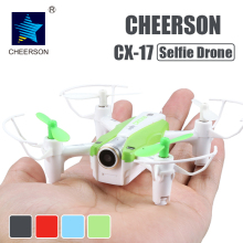 Buy Cheerson CX-17 RC FPV quadrocopter Camera Mini Selfie drone Wide Angle Camera High Hold Mode Pointing Flight RC Dron for $48.65 in AliExpress store