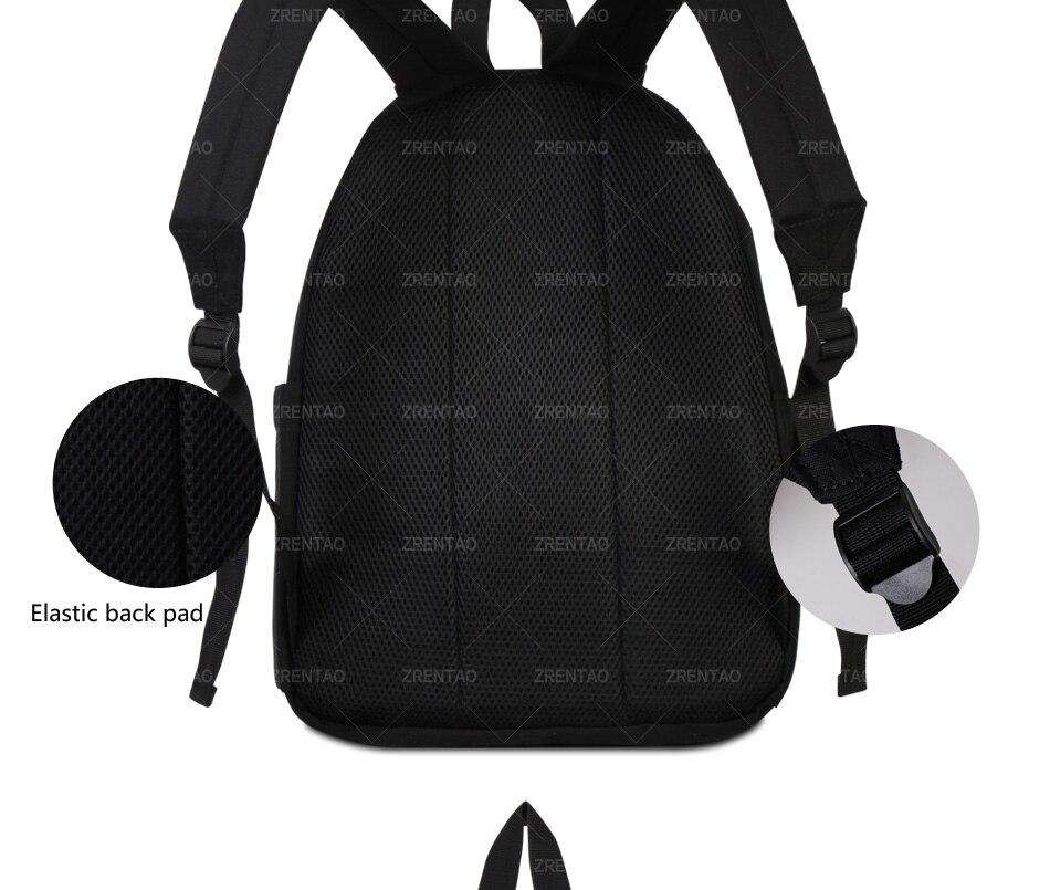 canvas school rucksack
