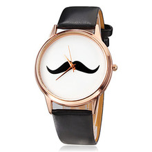 Big Small Mustache Ribbon Cross Bonjour Cat Watch new women Retro Vintage Ladies kitty Beard golden face wristwatch Dropshipping(China)
