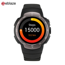 New Zeblaze Blitz Smartwatch GPS Pedometer Heart Rate Monitor Android Waterproof MTK6580 Quad Core 1.33 inch Smart watch Phone