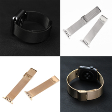 38mm 42mm Stainless Steel bands Net Milanese Elegant Metal Watch Band Bracelet Strap for Apple Watch Iwatch band(China)