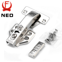 10PCS NED 90 Degree Hydraulic Hinge Angle 90 Corner Fold Cabinet Door Hinges Furniture Hardware For Home Kitchen Cupboard
