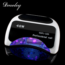 Dmoley Professional 48W CCFL UV Lamp Sensor LED Nail Dryer UV LED Nail Lamps Curing For Nail Gel Polish Manicure Nail Art Tools