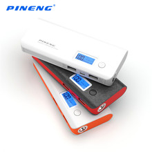 High Capacity PINENG PN-968 10000mA Power Bank Dual USB Portable Quick charging Mobile LED Display - SHZONS offical Store store