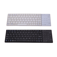 Hot Support Multiple Languages Mini Bluetooth Wireless Keyboard with Multi-finger Touchpad for Windows Mac/IOS Android