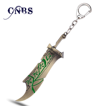League of LOL the Exile Riven Legend Keychain Metal Key Rings For Gift Key chain Jewelry for car key holder