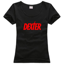 Michael C. Hall DEXTER Morgan Showtime sitcoms couple clothes woman women female cotton T-shirt