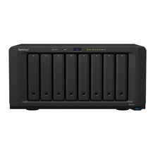 NAS Synology Disk Station DS1817+ 8G 8-bay diskless nas server network storage, 3 years warranty(China)
