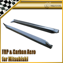 EPR Car Styling For Mitsubishi Evolution EVO 10 Sexy Style Carbon Fiber Side Skirt