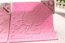 Lovely Hello Kitty Home Kitchen High Temperatures Stand Pot Mat Table Dish Placemat Pads