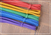 30Yards/lots 8mm 5colors Elastic Cord Stretch Thread String Rope CH-1025