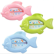 Floating Lovely Fish Baby Water Thermometer Float Baby Bath Toy Thermometer Tub Water Sensor Thermometer  beBetter