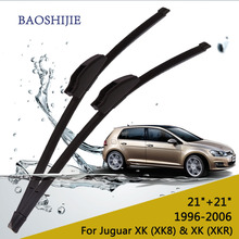 "Wiper blades for For Jaguar XK (XK8 ) 21""+21"" fit standard J hook wiper arms(China)"