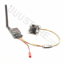 1000TVL Camera w/ 2.8mm wide angle lens + TS832 5.8Ghz 48Ch 600mW FPV AV Wireless Transmitter for QAV-R 220 Quadcopter
