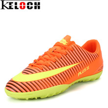 Keloch 2017 Football Shoes Men Soccer Sport Shoes For Men Soccer Cleats TF Football Ankle Boots Male Outdoor Waterproof Sneakers