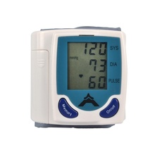 Health Care Wrist Blood Pressure Digital LCD Screen Heart Beat Pulse Monitor Meter Cuff Blood Pressure Measure Sphygmomanometer