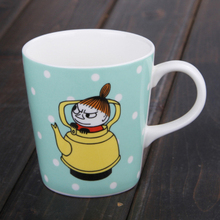 free shipping hot cartoon hippo ceramic candy color polka dot coffee cup glass mug cartoon water cup(China)