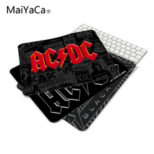 MaiYaCa Fashion Fresh Design Forever Rock Band AC/DC Series Mouse Mats Anti-Slip Rectangle Mouse Pad Customized Supported(China)